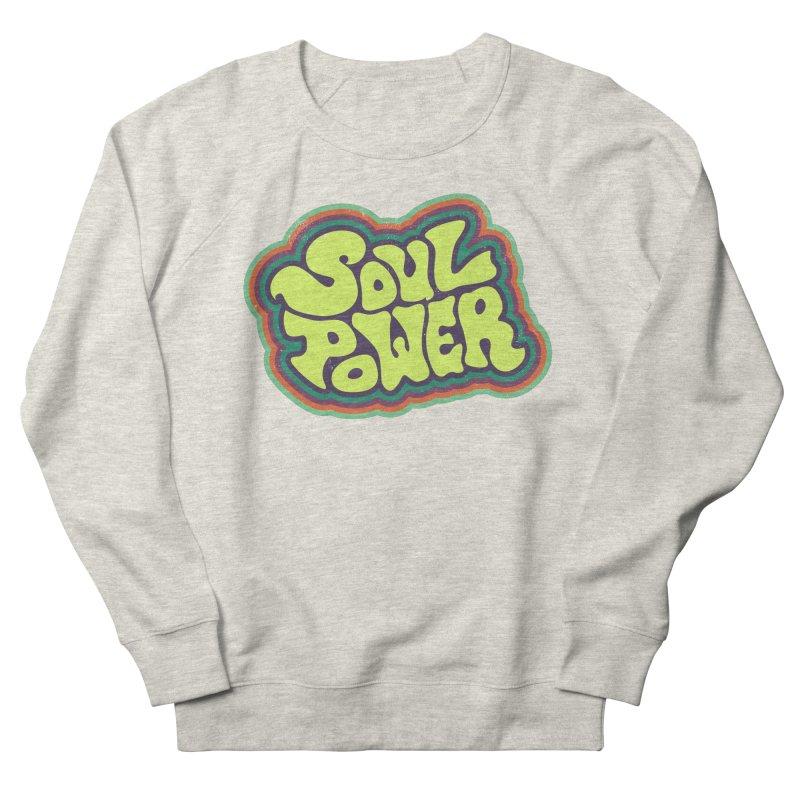Soul Power Men's Sweatshirt by Jason Castillo Illustration