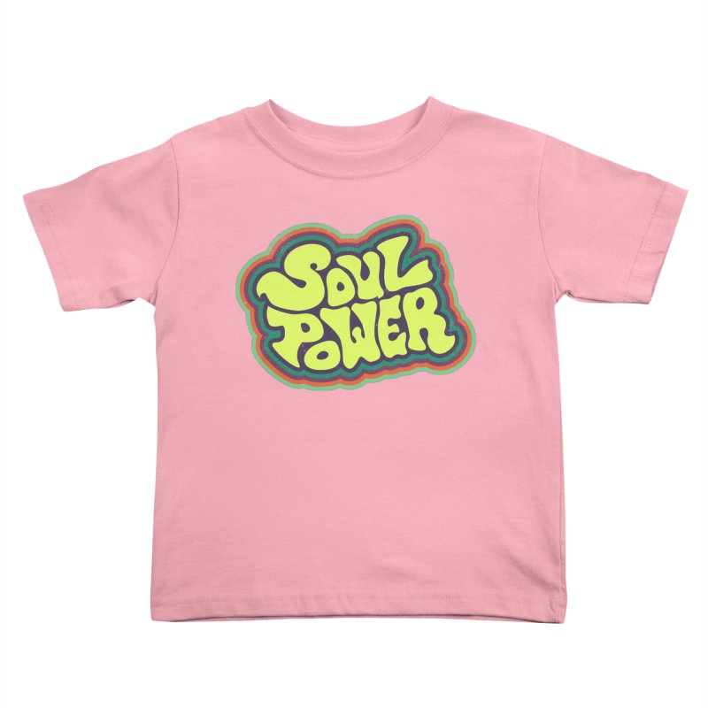 Soul Power Kids Toddler T-Shirt by Jason Castillo Illustration