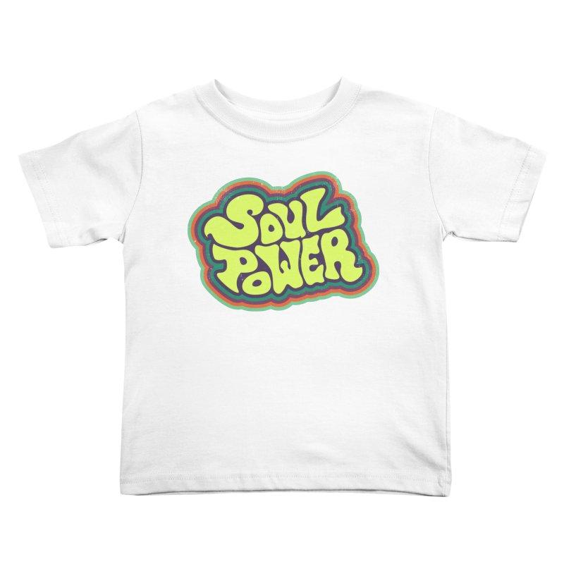 Soul Power Kids Toddler T-Shirt by Jason Castillo Illustration
