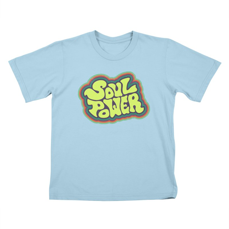 Soul Power Kids T-Shirt by Jason Castillo Illustration