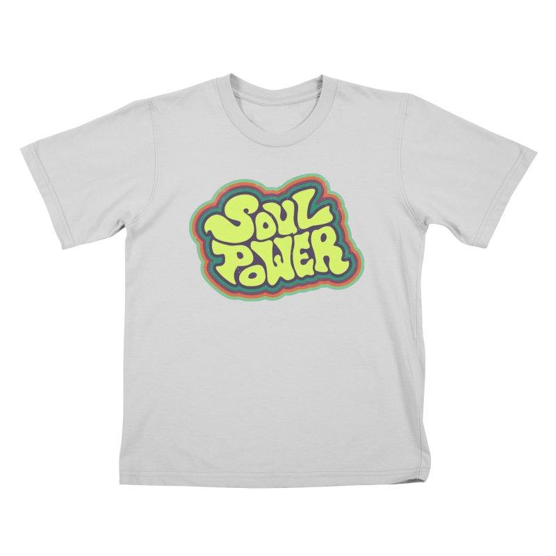 Soul Power Kids T-Shirt by Jason Castillo Illustration