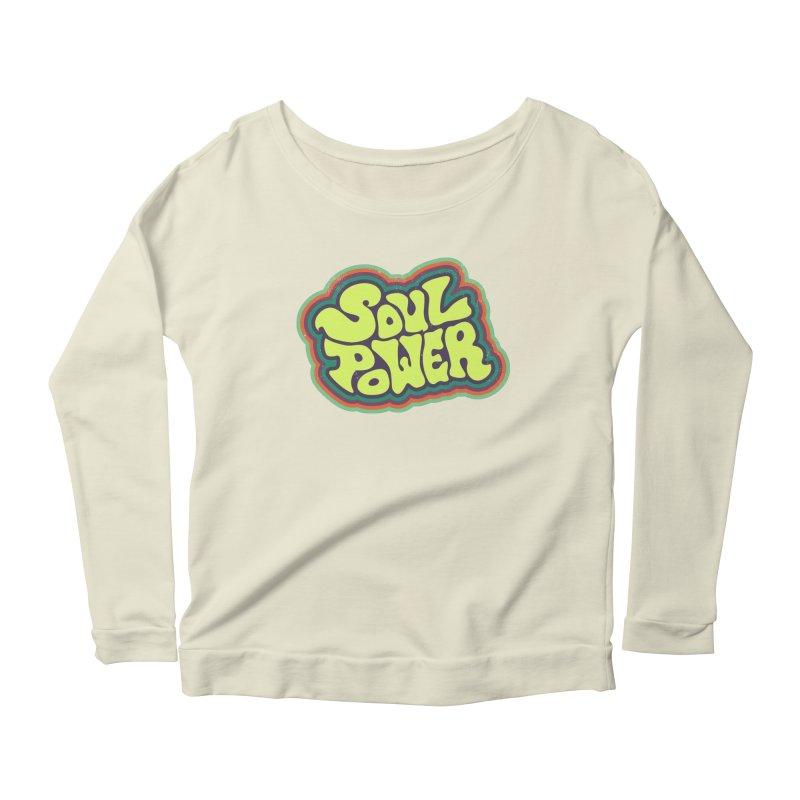 Soul Power Women's Longsleeve T-Shirt by Jason Castillo Illustration