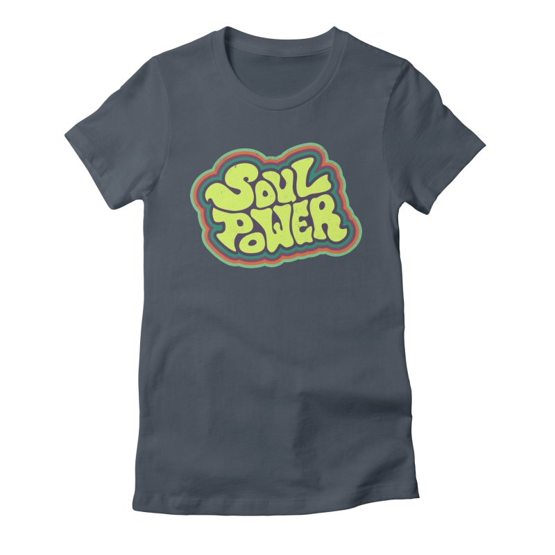 Soul Power Women's T-Shirt by Jason Castillo Illustration