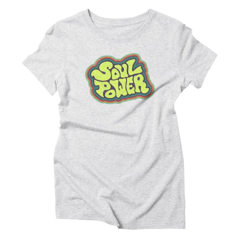 Soul Power Women's T-Shirt by Jason Castillo Illustration