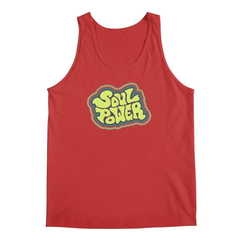 Soul Power Men's Regular Tank by Jason Castillo Illustration