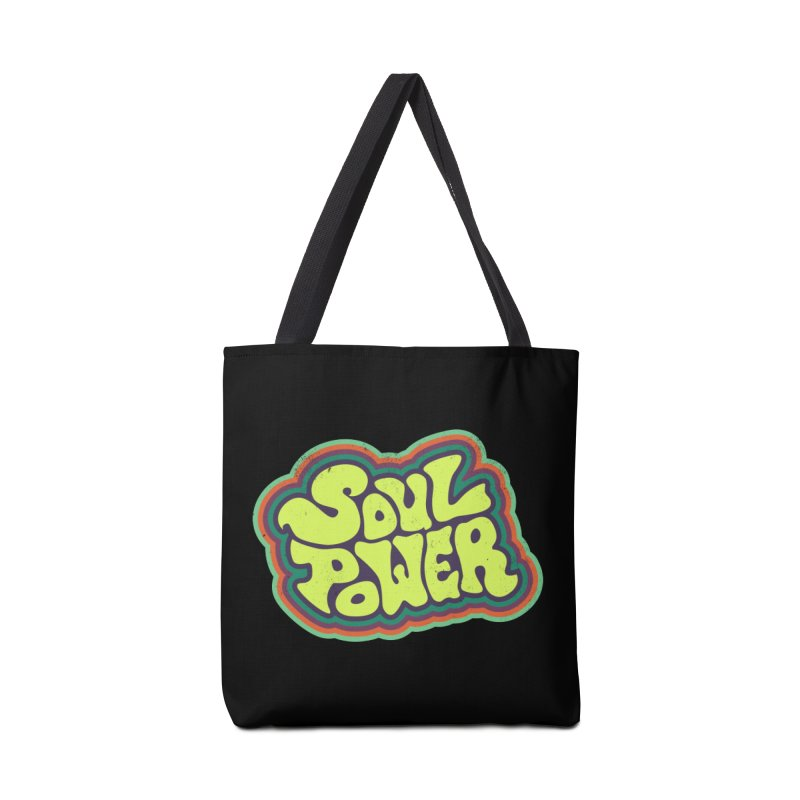 Soul Power Accessories Tote Bag Bag by Jason Castillo Illustration