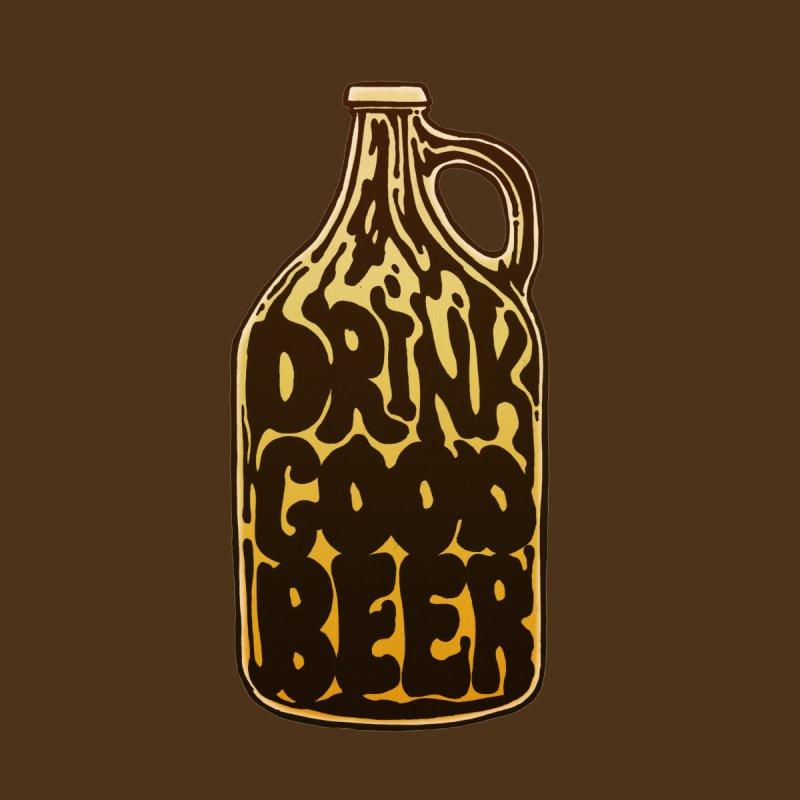 Drink Good Beer Women's Tank by Jason Castillo Illustration