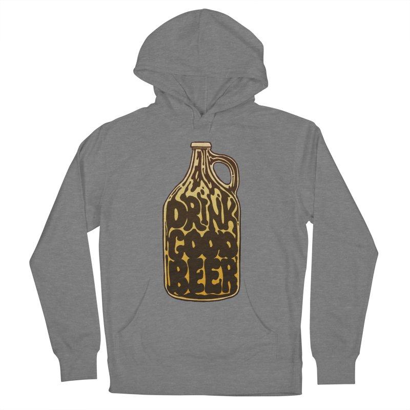 Drink Good Beer Women's Pullover Hoody by Jason Castillo Illustration