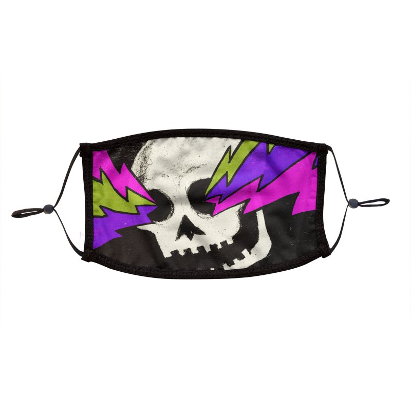 Variations on a Skull Part One Accessories Face Mask by Jason Castillo Illustration