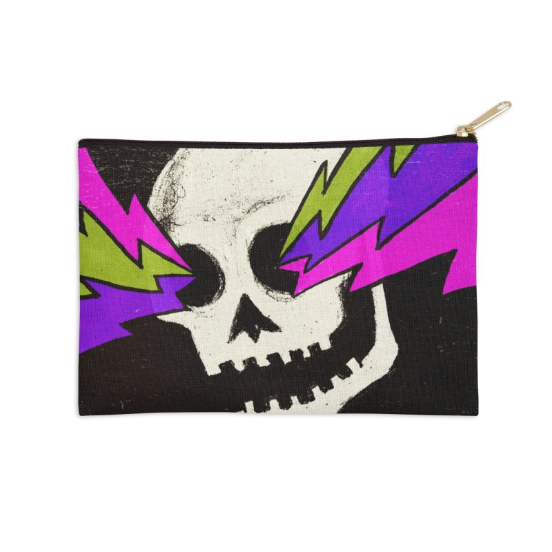 Variations on a Skull Part One Accessories Zip Pouch by Jason Castillo Illustration