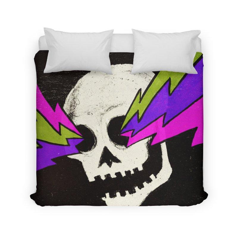 Variations on a Skull Part One Home Duvet by Jason Castillo Illustration