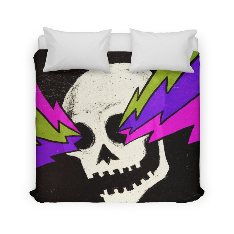 Variations on a Skull Part One Home Duvet by Jason Castillo Illustration