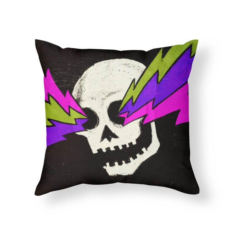 Variations on a Skull Part One Home Throw Pillow by Jason Castillo Illustration