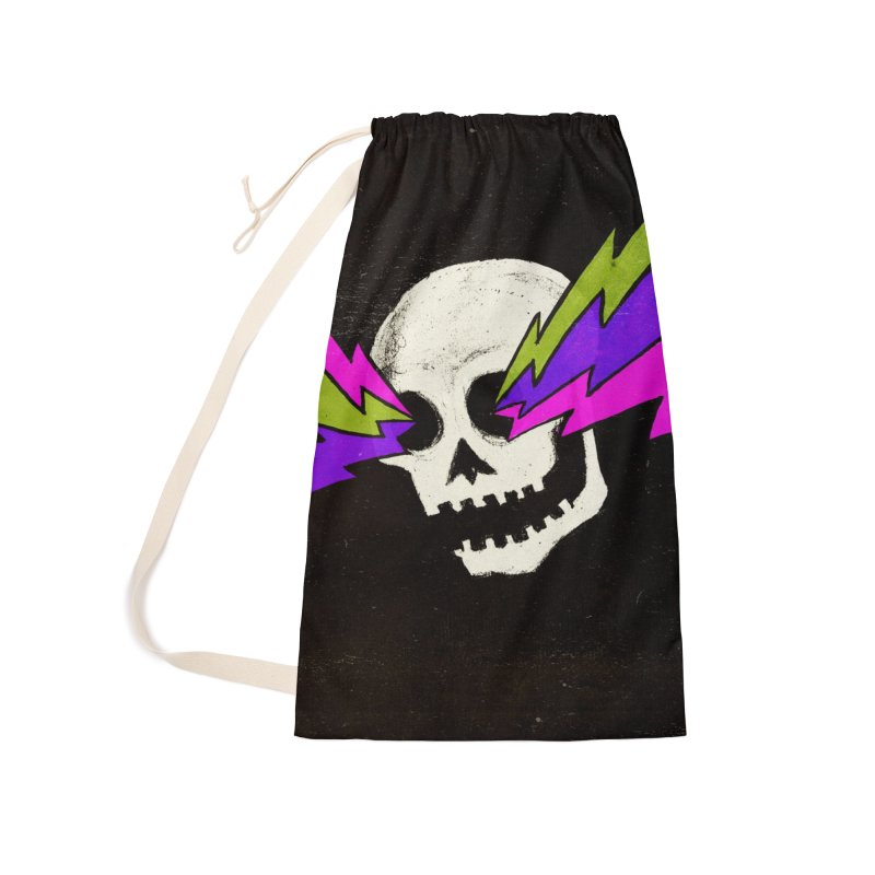 Variations on a Skull Part One Accessories Laundry Bag Bag by Jason Castillo Illustration