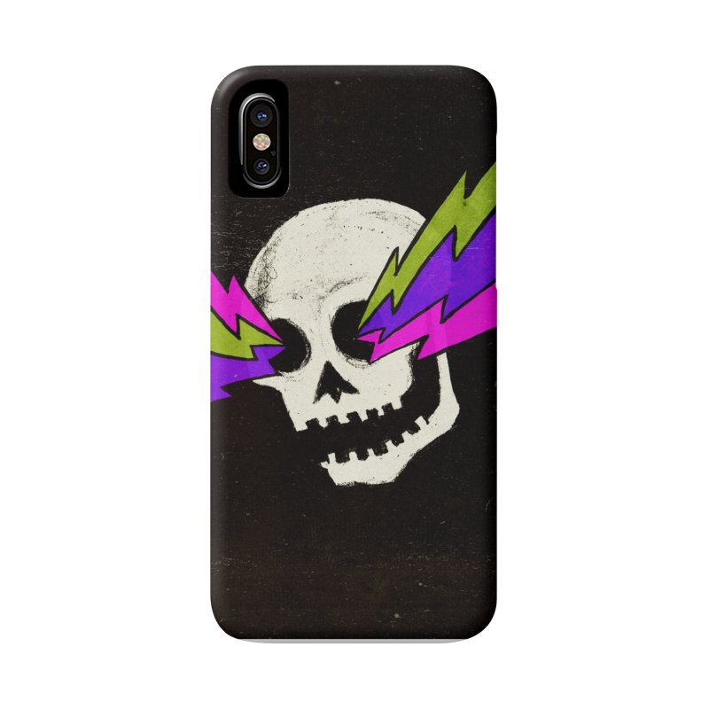 Variations on a Skull Part One Accessories Phone Case by Jason Castillo Illustration