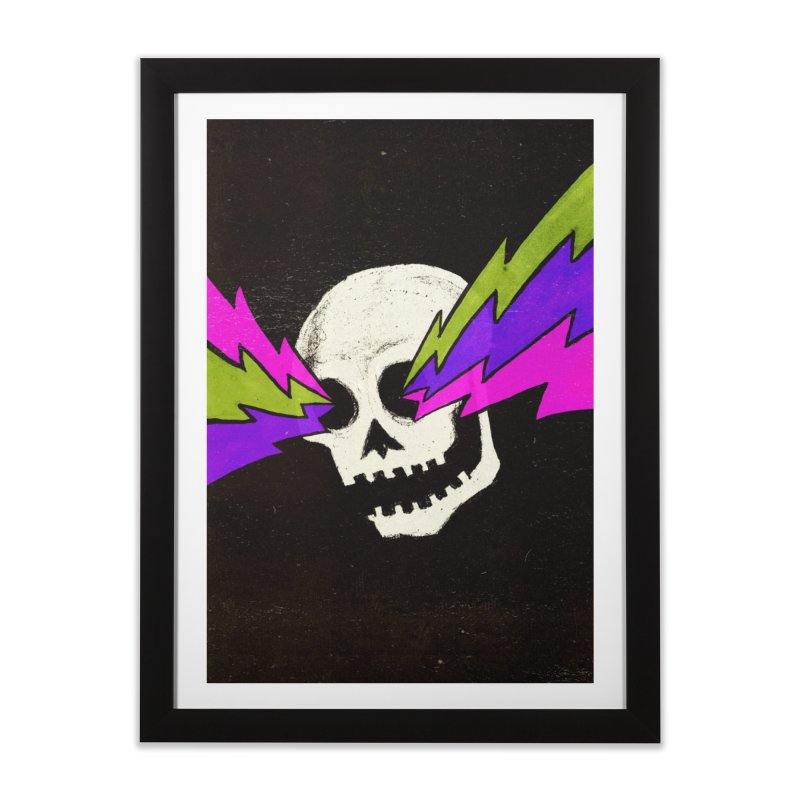 Variations on a Skull Part One Home Framed Fine Art Print by Jason Castillo Illustration