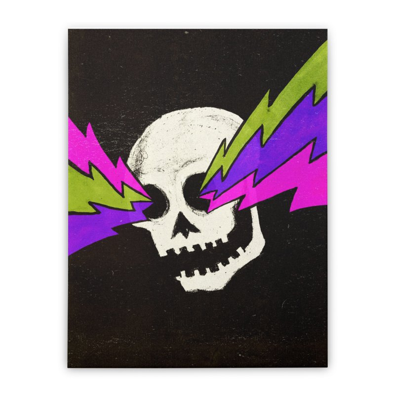 Variations on a Skull Part One Home Stretched Canvas by Jason Castillo Illustration