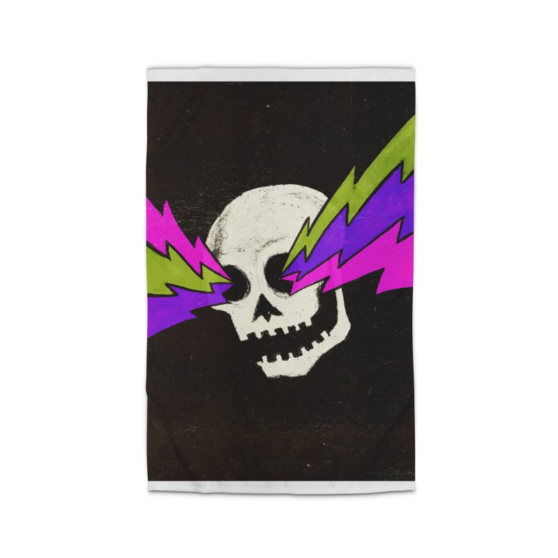 Variations on a Skull Part One Home Rug by Jason Castillo Illustration