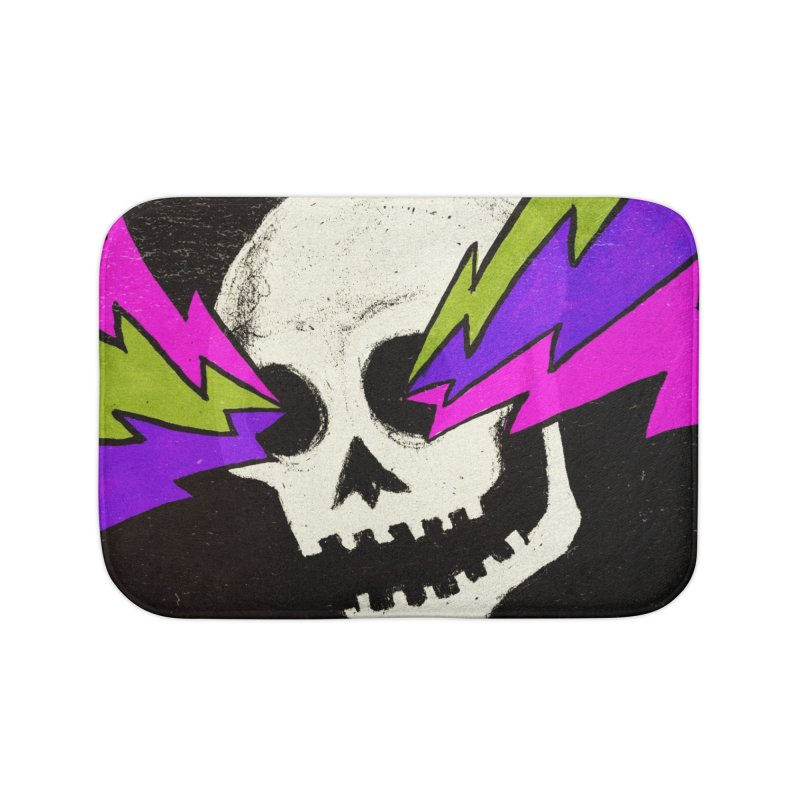 Variations on a Skull Part One Home Bath Mat by Jason Castillo Illustration