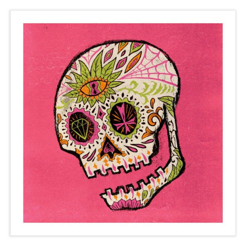 Variations on a Skull Part 2: Day of the Dead Home Fine Art Print by Jason Castillo Illustration