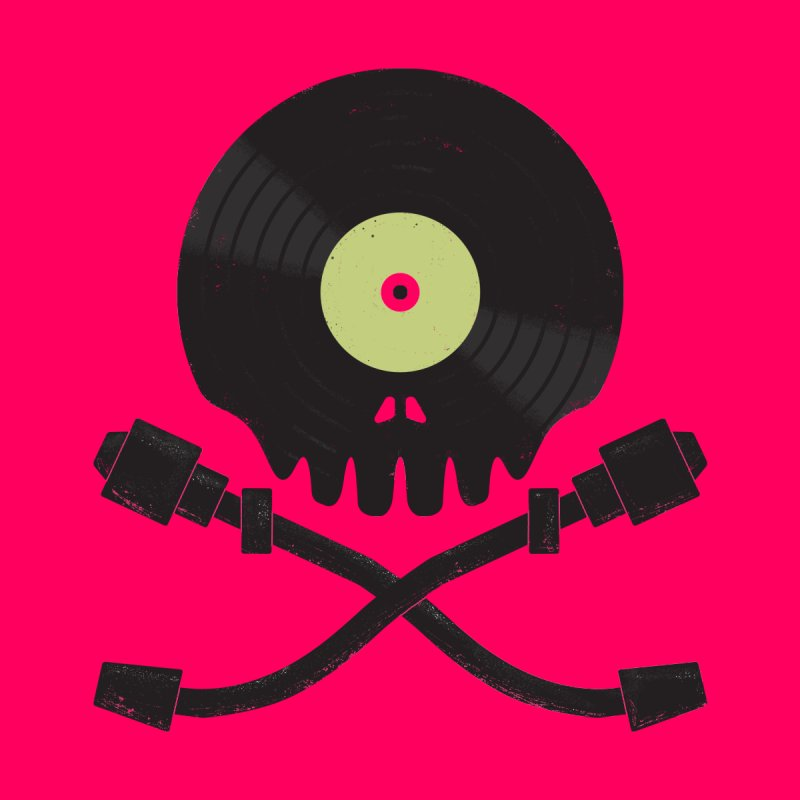 Vinyl till Death by Jason Castillo Illustration