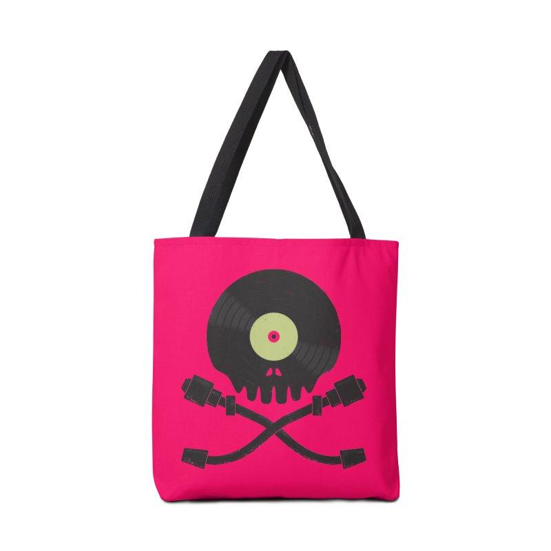 Vinyl till Death Accessories Bag by Jason Castillo Illustration