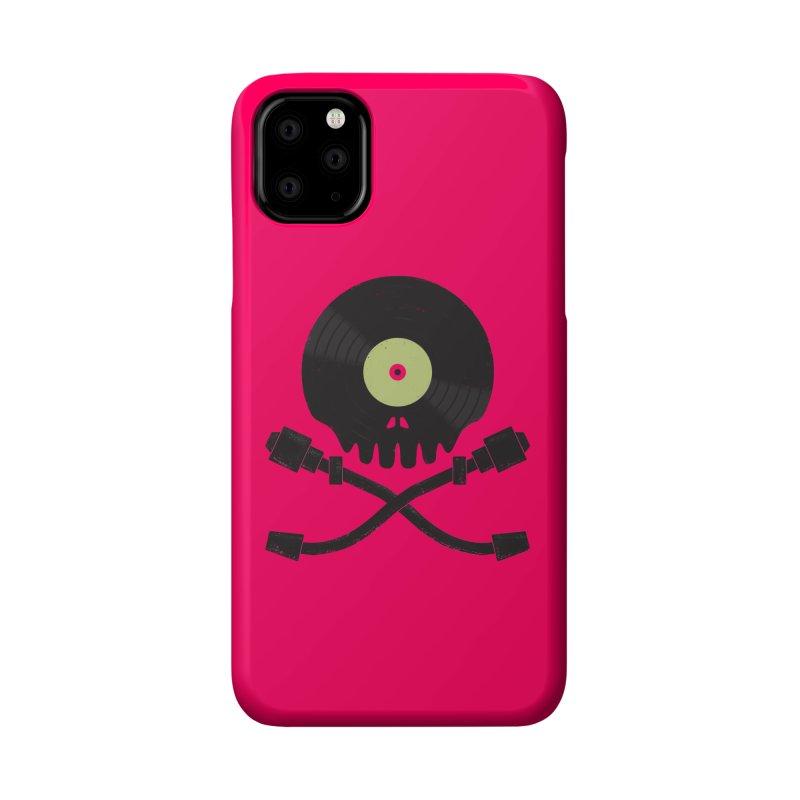 Vinyl till Death Accessories Phone Case by Jason Castillo Illustration