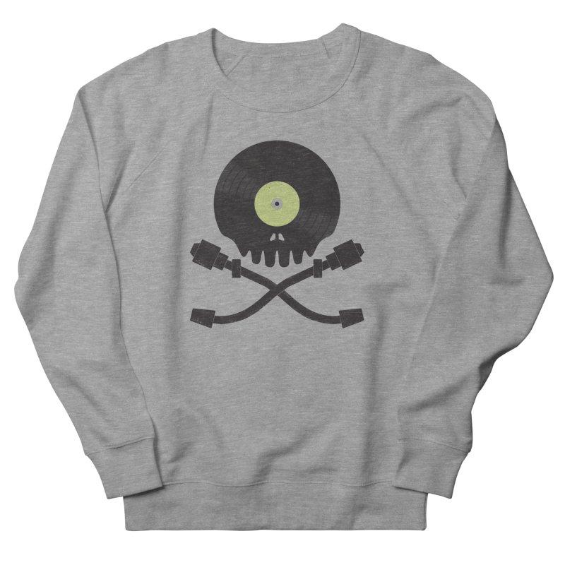 Vinyl till Death Men's Sweatshirt by Jason Castillo Illustration