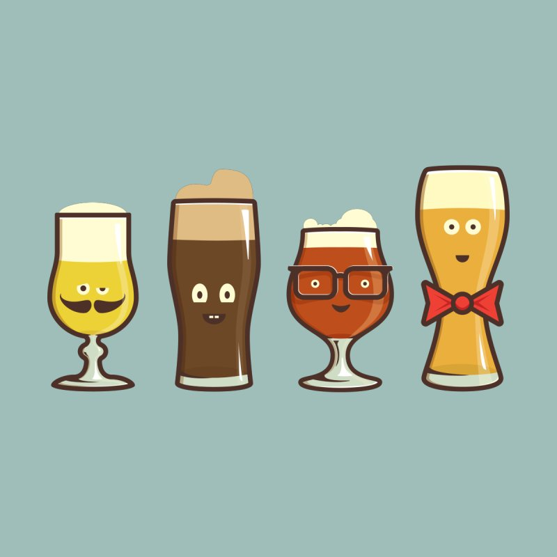 Beer Geeks by Jason Castillo Illustration