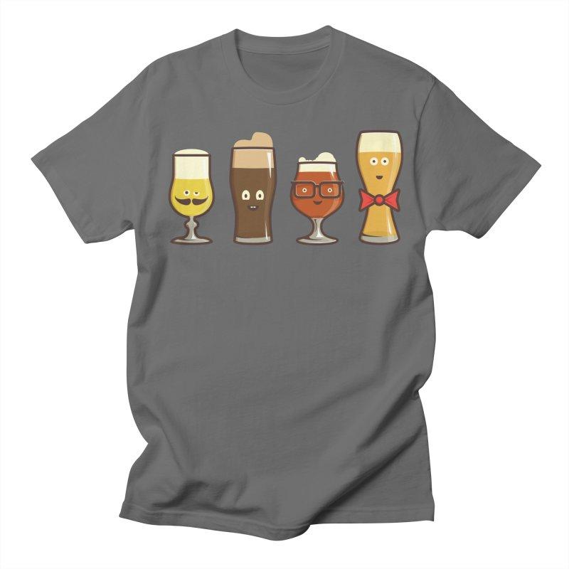 Beer Geeks Men's T-Shirt by Jason Castillo Illustration