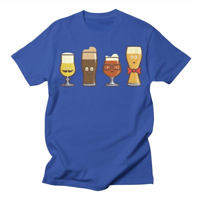 Beer Geeks Men's Regular T-Shirt by Jason Castillo Illustration