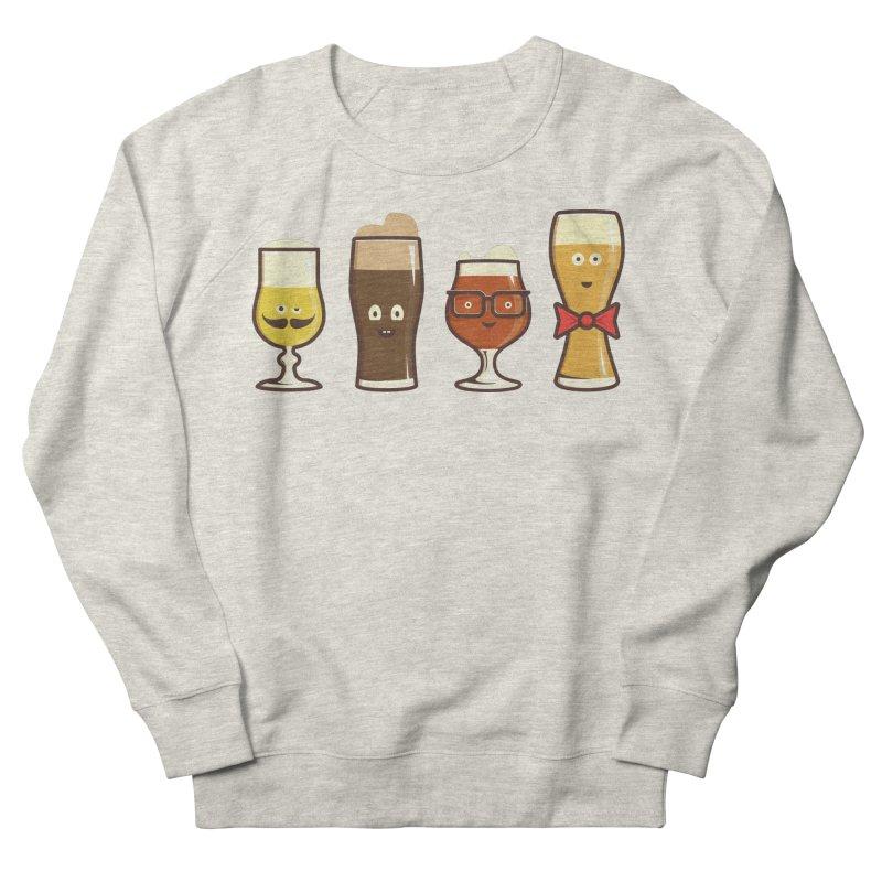 Beer Geeks Women's French Terry Sweatshirt by Jason Castillo Illustration