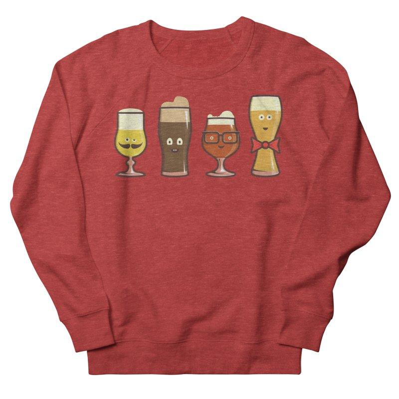 Beer Geeks Men's French Terry Sweatshirt by Jason Castillo Illustration
