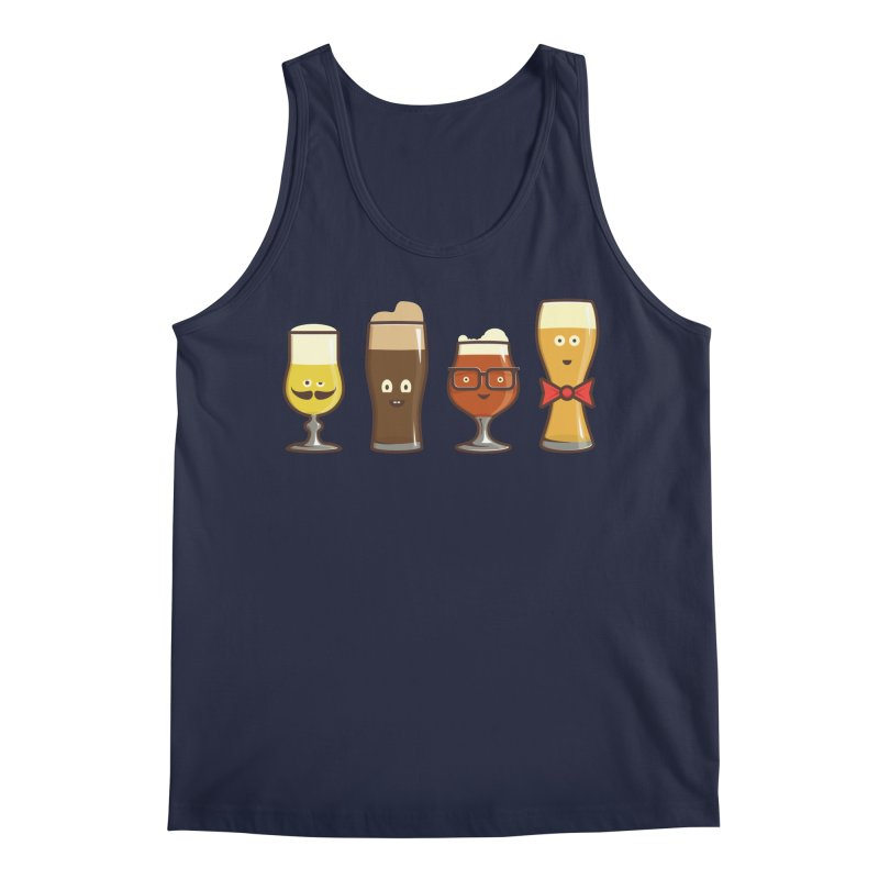 Beer Geeks Men's Regular Tank by Jason Castillo Illustration