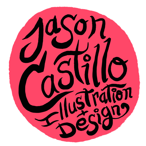 Jason Castillo Illustration Logo