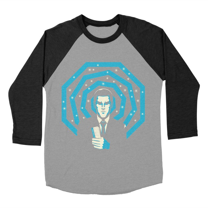Men Of Mystery (The Lost Island) Women's Baseball Triblend Longsleeve T-Shirt by Jason Cryer
