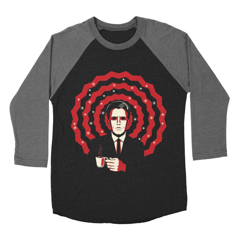 Men Of Mystery (The Black Lodge) Women's Baseball Triblend Longsleeve T-Shirt by Jason Cryer