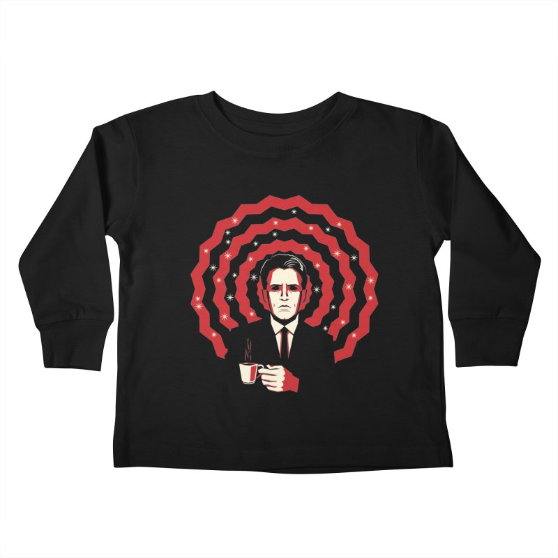 Men Of Mystery (The Black Lodge) Kids Toddler Longsleeve T-Shirt by Jason Cryer