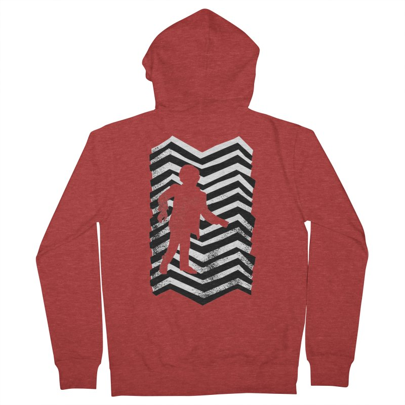The Man From Another Place Women's Zip-Up Hoody by jasoncryer's Artist Shop