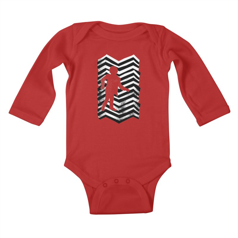 The Man From Another Place Kids Baby Longsleeve Bodysuit by jasoncryer's Artist Shop