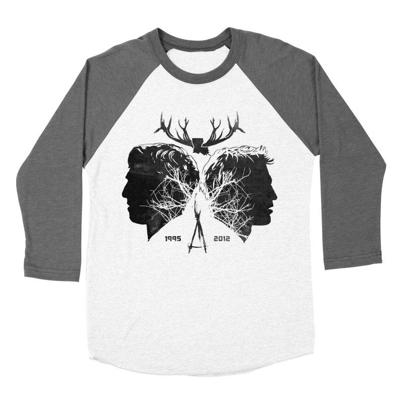 True Partners Men's Baseball Triblend Longsleeve T-Shirt by Jason Cryer
