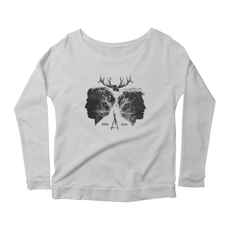 True Partners Women's Scoop Neck Longsleeve T-Shirt by Jason Cryer