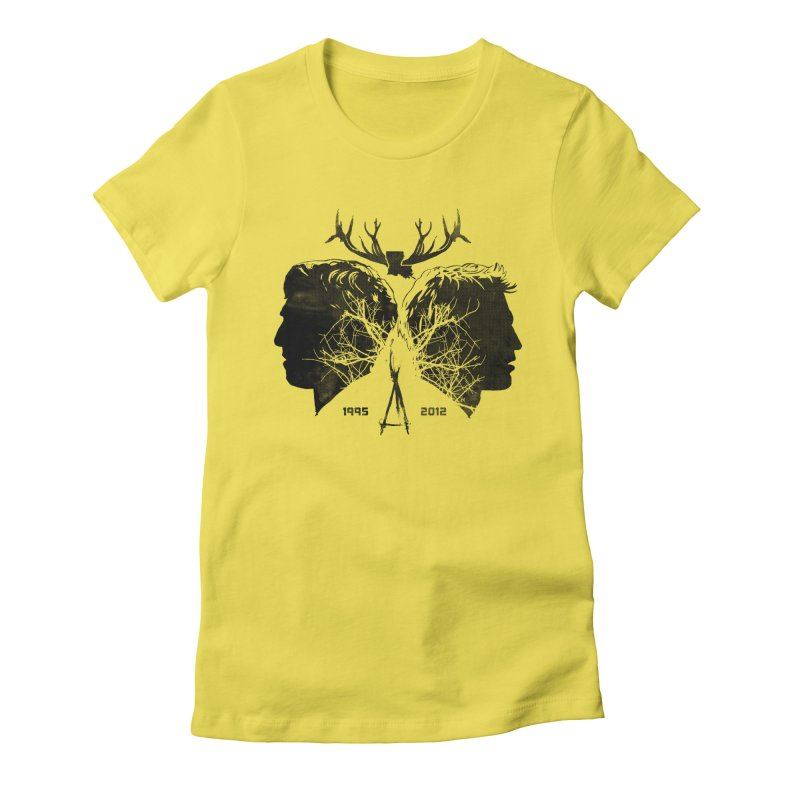 True Partners Women's Fitted T-Shirt by Jason Cryer