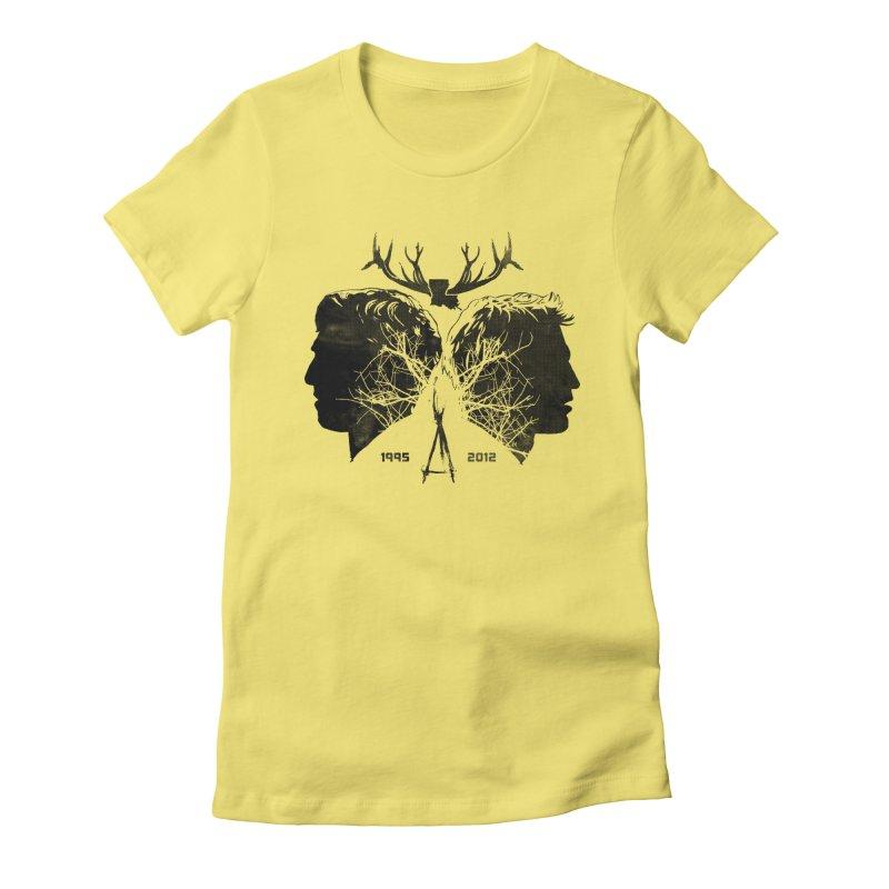 True Partners Women's Fitted T-Shirt by jasoncryer's Artist Shop