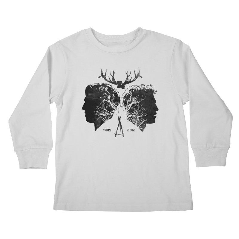 True Partners Kids Longsleeve T-Shirt by Jason Cryer