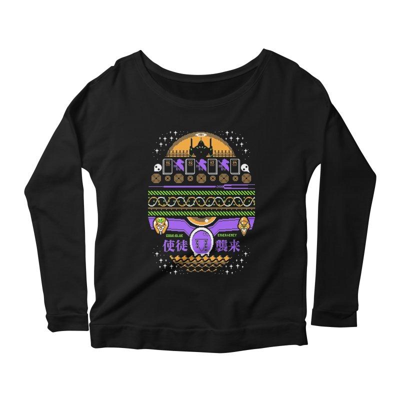 SWEATSHIRT 1.11: YOU CAN (NOT) WEAR Women's Scoop Neck Longsleeve T-Shirt by Jason Cryer