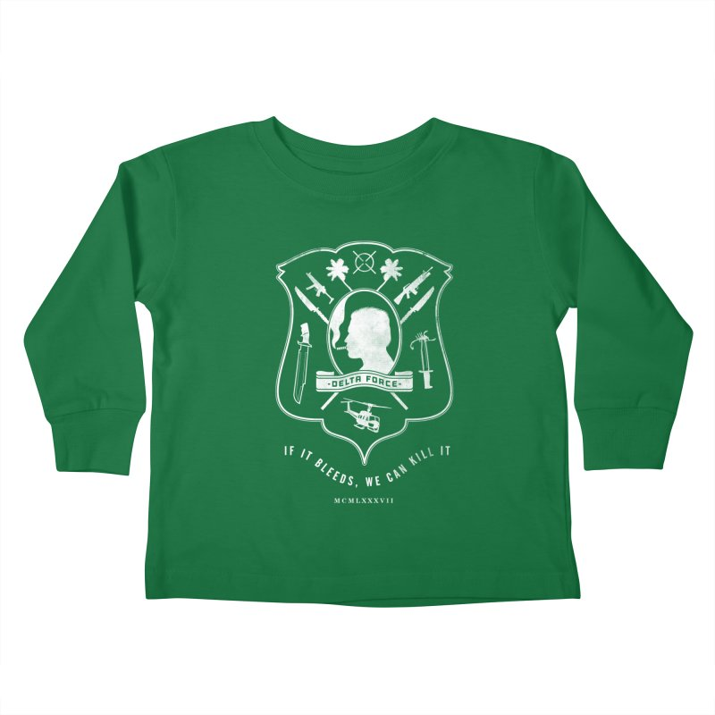 Delta Force Kids Toddler Longsleeve T-Shirt by Jason Cryer