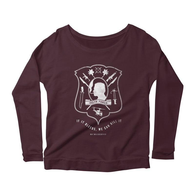 Delta Force Women's Scoop Neck Longsleeve T-Shirt by jasoncryer's Artist Shop