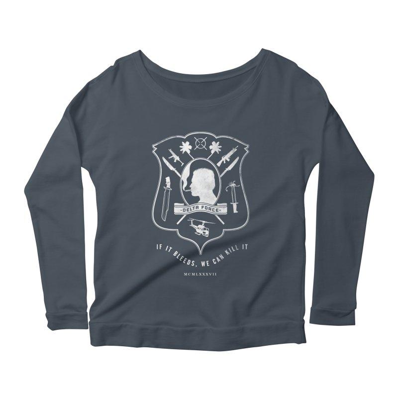Delta Force Women's Scoop Neck Longsleeve T-Shirt by Jason Cryer