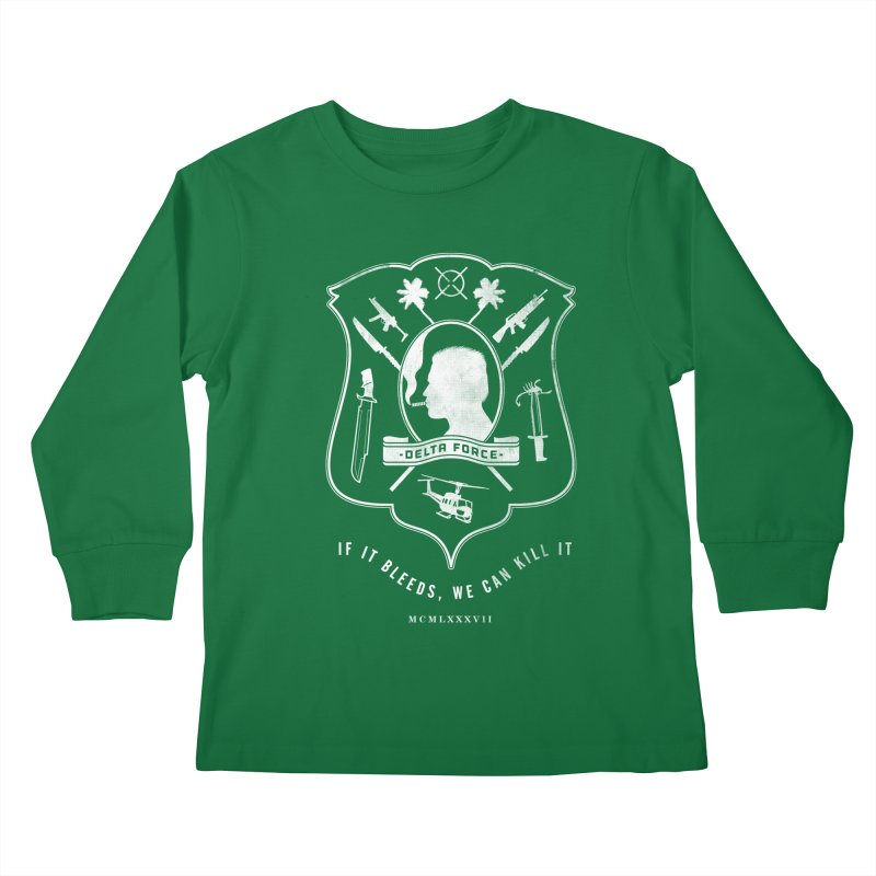 Delta Force Kids Longsleeve T-Shirt by jasoncryer's Artist Shop